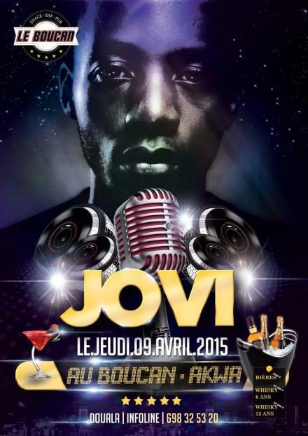 Jovi Performing at Boucan, Akwa, Douala on April 9th!