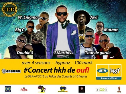 Jovi Performing at the Kankpè Hip Hop Festival in Benin, Sat. April 4!
